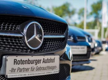 Mercedes von vorne