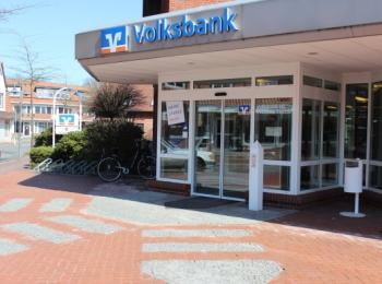 Volksbank von vorne
