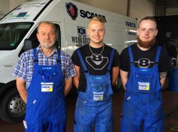 Mitarbeiter der A1 Werkstatt in Bockel
