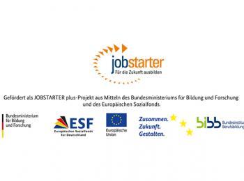 Logo des ESF-Projektes Jobstarter