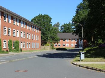 Firmengebäude von Außen
